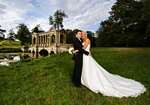 The Wedding of Mia and Steve Stowe Gardens