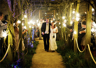 Wedding Tythe Barn Ross Holkham